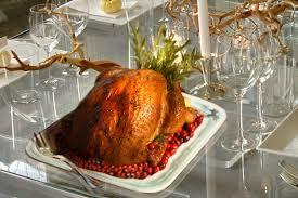 modern thanksgiving table
