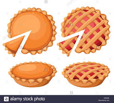 pies vector illustration thanksgiving and pumpkin pie
