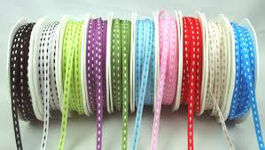 grosgrain ribbon wholesale stitched grosgrain ribbon wholesale 3mm green tara 10 colours