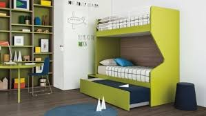 Blue Funky Bunk Beds With Corner Wardrobe - Funky bunk beds uk
