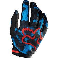 All New Fox Racing 2015 Womens Dirtpaw Gloves Blue Red Wide
