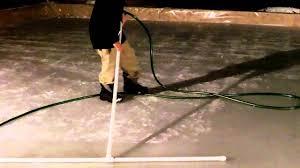 Making Backyard Ice Rink Backyard Ice Rink Plans