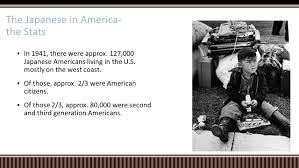 swbat explain why japanese americans were interned during wwii