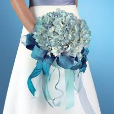 blue wedding bouquets blue bridal bouquet ideas