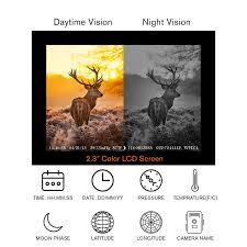 amazon com trail camera tec bean 12mp 1080p full hd game