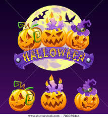 halloween ravens clipart illustrations creative happy halloween magic collection witch wizard stock vector