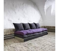 lit transformé en canapé canape lounge tatami futon