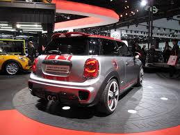 john cooper works concept on display at the detroit auto show