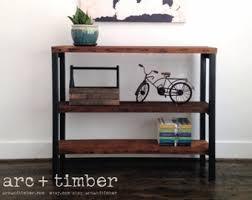 Timber Bookshelf Bookshelf Etsy