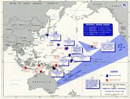 Map Of Europe 1941 by American Aircraft Carriers Operations In The Pacific War 1941 42