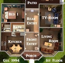 The Sims 3 House Floor Plans Mod The Sims Hansen Nordic Suburbia