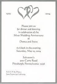 card invitation ideas 25 wedding anniversary invitation cards