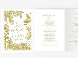 template diy wedding program booklet diy editable ms word template floral