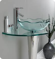 Glass Bathroom Vanity Tops by Glass Vanity Top Integrated Sink Others Beautiful Home Design
