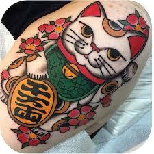25 beautiful lucky cat tattoo ideas on pinterest yin en yang