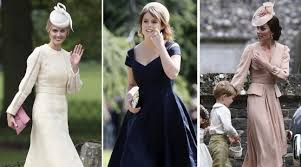 kate middleton leads the best dressed guests list at sister