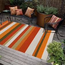 Outdoor Rugs Mats by Striped Outdoor Rugs U0026 Mats Dfohome