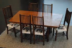 6 Chair Dining Room Table by Plan To Build