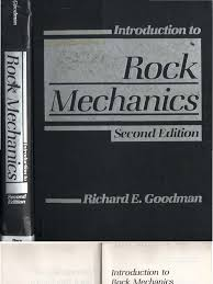 goodman r e introduction to rock mechanics 2nd edition