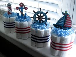 nautical baby shower ideas for decoration