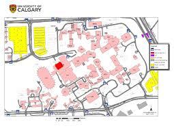 U Of M Map Ucmaps University Of Calgary