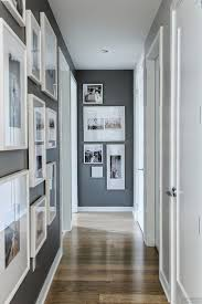 Black And White Wall Decor by Wall Beside White Dining Table Set Small Entrance Hallway Wall
