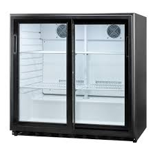 commercial glass sliding doors summit appliance 6 5 cu ft sliding glass door all refrigerator