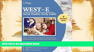read online west e social studies study guide west e test prep