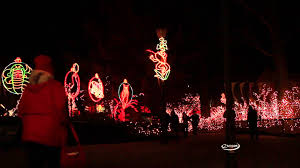 Zoo Lights Ohio by Escapes Tv Toledo Zoo Lights Before Christmas Youtube
