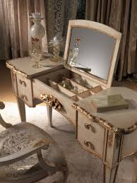 Vintage Style Vanity Table Antique Bedroom Vanity Set With Mirror Antique Dresser With On