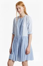 nuru schiffley mix striped dress collections french connection