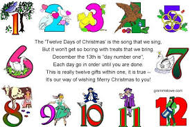eric shackle s ebook artists the 12 days of