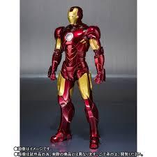 Iron Man Iron Man 2 Sh Figuarts Iron Man Mark Iv Armor The Toyark News