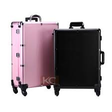 rolling makeup case with lighted mirror professional rolling makeup case with lights hard makeup case with