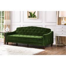 9novogratz vintage tufted sofa sleeper ii multiple colors ebay
