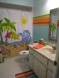 minimalist bathroom simple beach decor themed in kids home