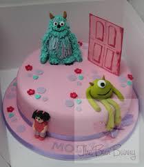 monsters inc cake the bun bunny
