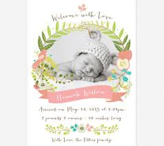 free printable birth announcements birth announcements templates