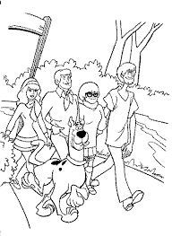 coloring scooby doo coloring pages 57