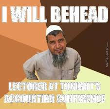 ordinary muslim man beheading by tnereffid meme center