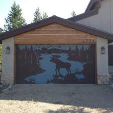 cool garage doors cool garage door stencil for the home pinterest garage doors