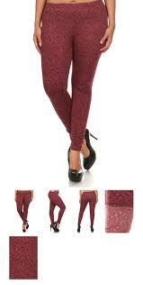 red patterned leggings plus size patterned leggings corabella boutique