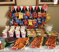 birthday boy ideas concession stand for football baseball or other sports party