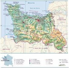Normandy France Map Large Normandy Maps For Free Download And Print High Resolution