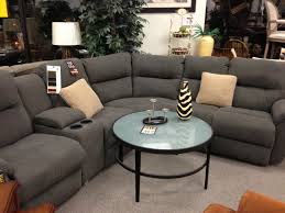 sofas and sectionals com grey reclining sectional from michael u0027s house ideas pinterest