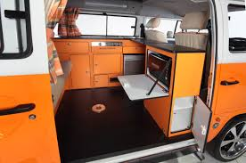 volkswagen microbus 2017 interior vw t2 4 seater from danbury campervans caravans and trailers