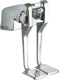 Chicago Faucet Kitchen Foot Pedal Faucet Sinks And Faucets Decoration