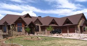 large one story homes large home plans house plans for sloping lots one story house
