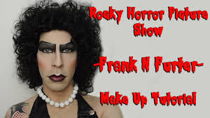 frank n furter rocky horror picture show halloween make up