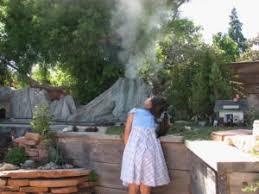 Backyard Volcano Get Your Fill Of Local Backyard Railroads And Help Feed The Hungry